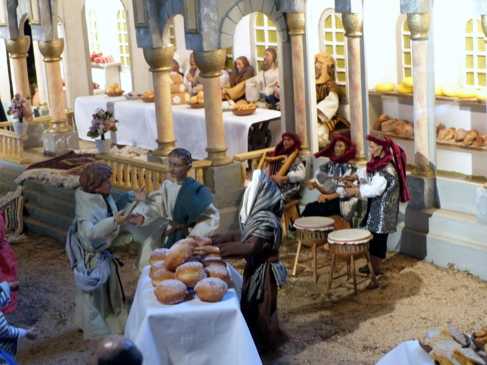 Kirchenkrippe Die Hochzeit Zu Kana