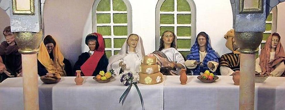 Hochzeit zu Kana beendet die Krippensaison